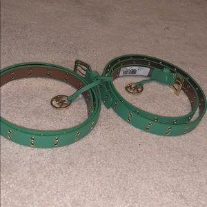 2 Michael Kors Belts!